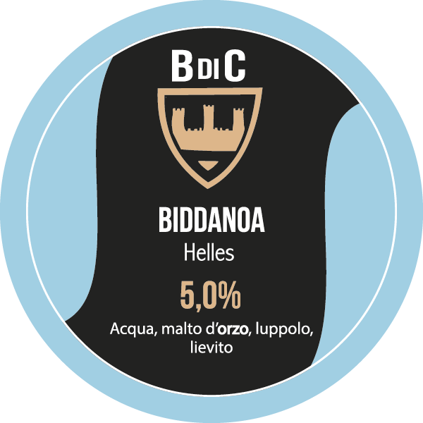 Biddanoa Helles | Birre Classiche | Il Birrificio di Cagliari