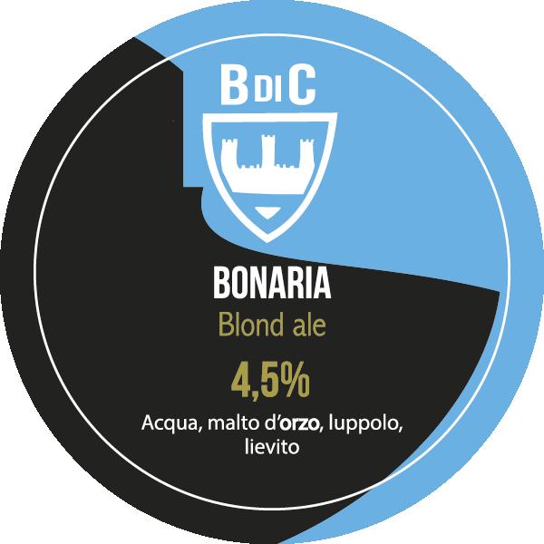 Bonaria Blond ale | Birre Classiche | Il Birrificio di Cagliari